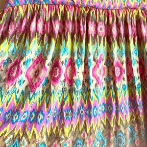 Bright pastel pattern skirt, Lane Bryant 26/28